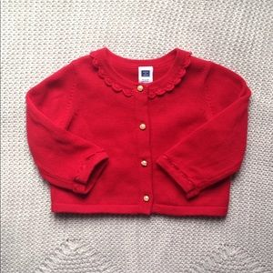 Beautiful special occasion baby girl cardigan